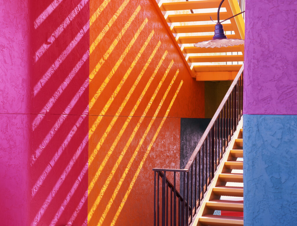 La Placita Staircase, Tucson, Arizona, USA