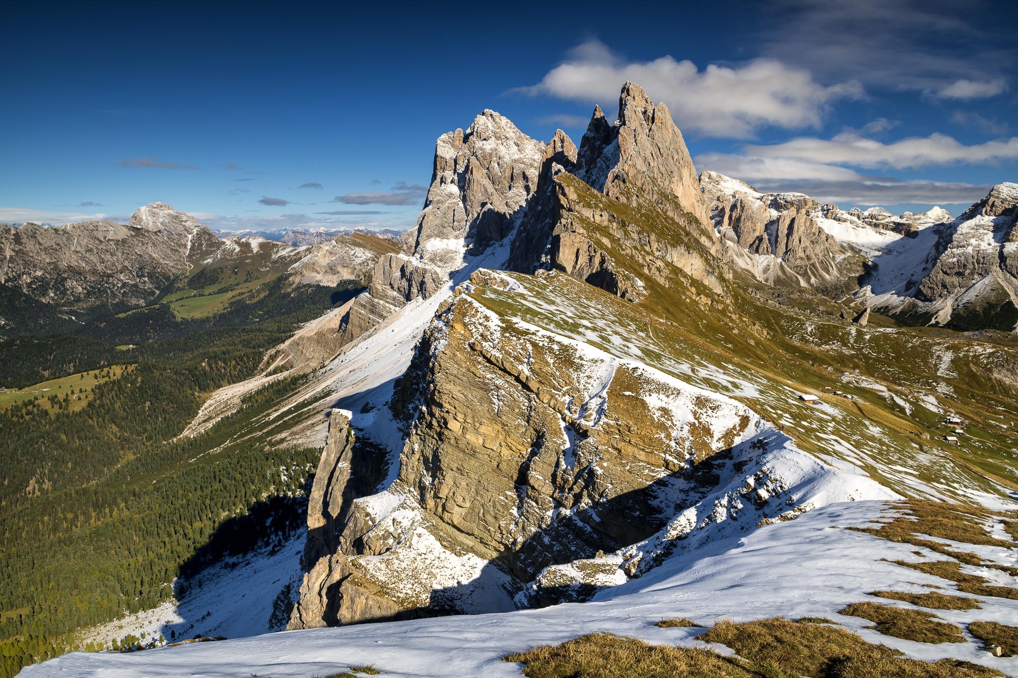 Seceda, Dolomites, Italy