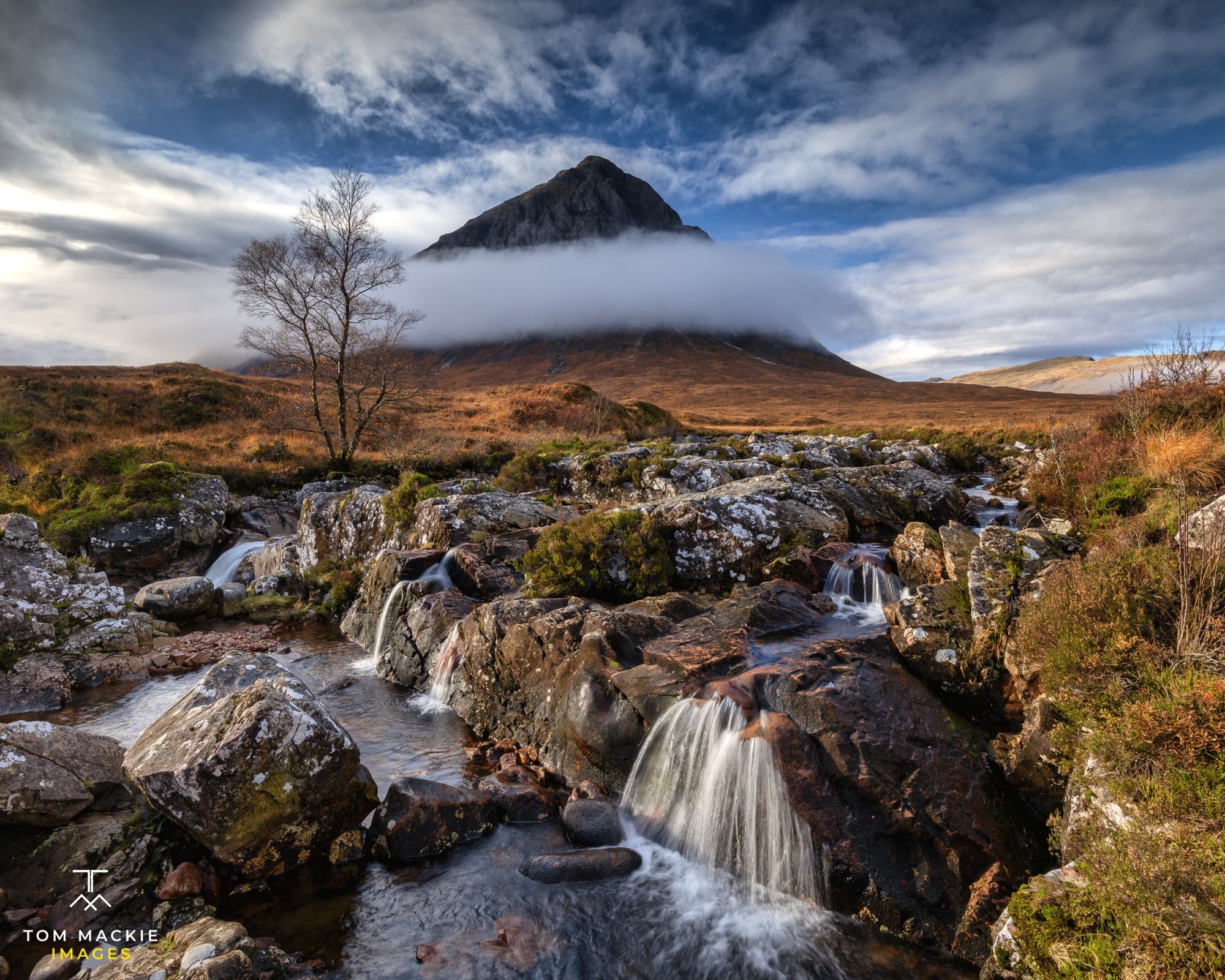 Buachaille Etive Mor, River Coupall, Glen Coe, Highlands, Scotland