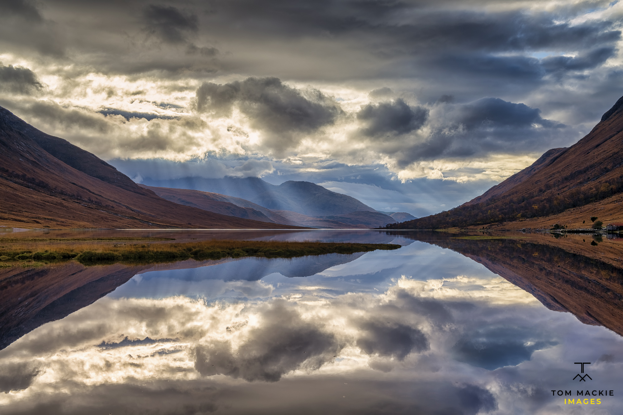 Loch Etive Reflections, Highlands, Scotland